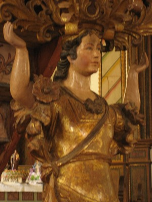 Yag pulpit angel